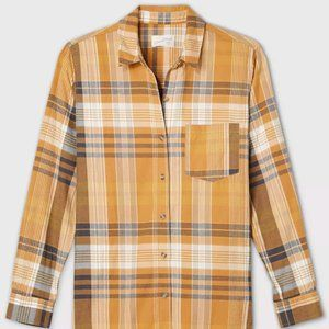 target long sleeve button up